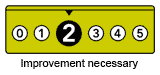 2 - Improvement necessary