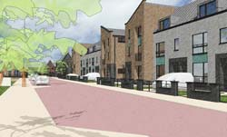 Plans for new homes at Amy Johnson as part of Gateway
