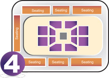 Boxing seating plan