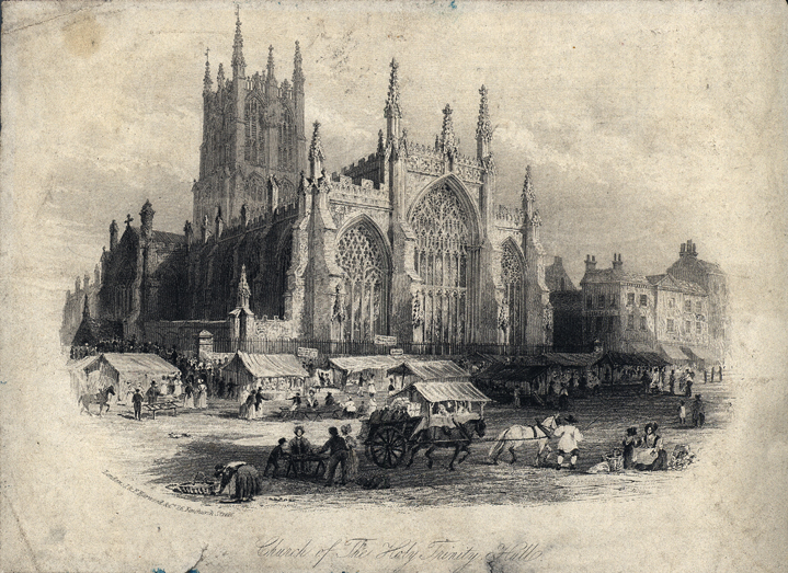 Holy Trinity church 1842