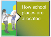 How school places are allocated