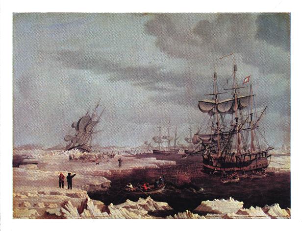 Hull whalers 1822