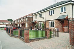 Merton Grove council houses