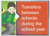 Transfers between schools during the school year