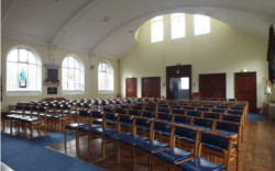 Inside St Ninians and St Andrews Church