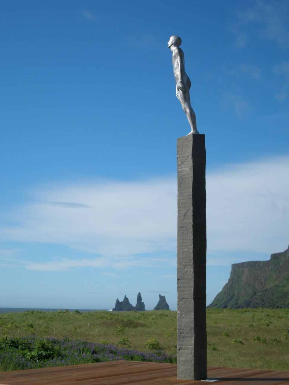 For sculpture in Vik, Iceland