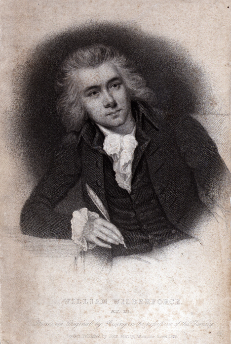 William Wilberforce 1838