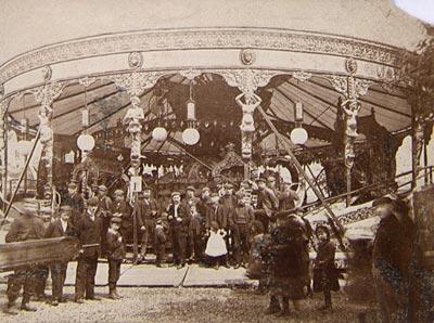 Aspland's Gondolas, 1900.