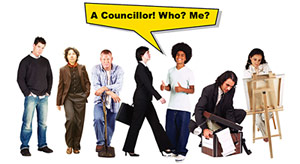 A Councillor! Who? Me?
