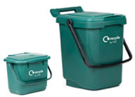 Green caddies - link to collection information