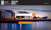 hull.gov.uk home page