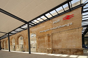 Inside the new Hull Paragon Interchange