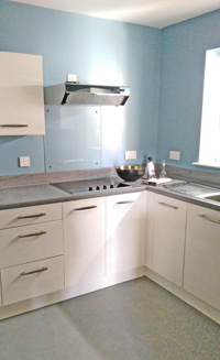 Extra care kitchen