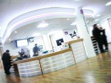 The Wilson Centre reception